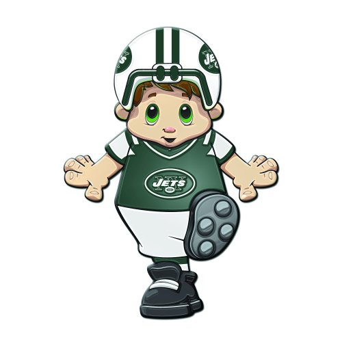 New York Jets Window Mascot Cling (Mascot Jet)