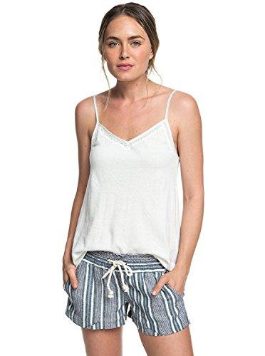 Roxy Junior's Oceanside Yarn Dye Short, Dress Blues Cherokee Stripes, S by Roxy