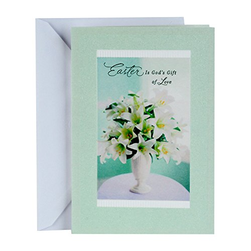 DaySpring Religious Easter Greeting Card (God's Gift of Love)
