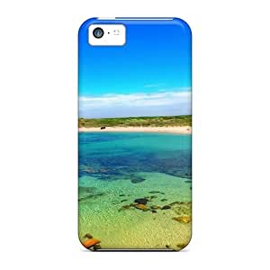 Tpu Case Cover For Iphone 5c Strong Protect Case - Cronulla Beach Sydney Design
