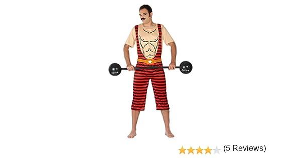 Atosa- Disfraz Hombre forzudo,, M-L (7104): Amazon.es: Juguetes y ...