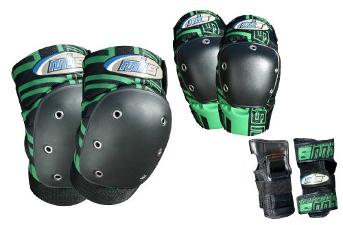 MBS Pro Tri-Pack Pads, Medium