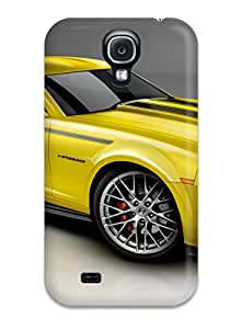 5408863K70429843 New Arrival Premium S4 Case Cover For Galaxy (2010 Camero Yellow)