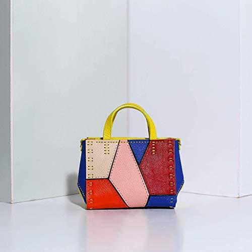 (Ponagar Handmade Leather POP tiny handbag, Italian Leather, Unique design, Fully handmade )