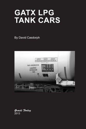 Gatx Black Tank Cars - GATX LPG Tank Cars
