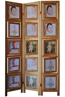 Amazoncom Memories Photo Frame Room Divider 4 Panel Industrial