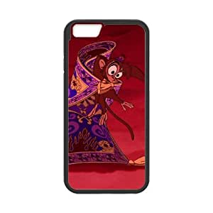 iPhone 6 4.7 Inch Cell Phone Case Black Aladdin Character Abu Fvmnh