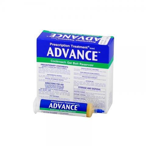 Advance Cockroach Gel Bait 0.5% Dinotefuran 1 Box (4x30 gram) Syringes ()