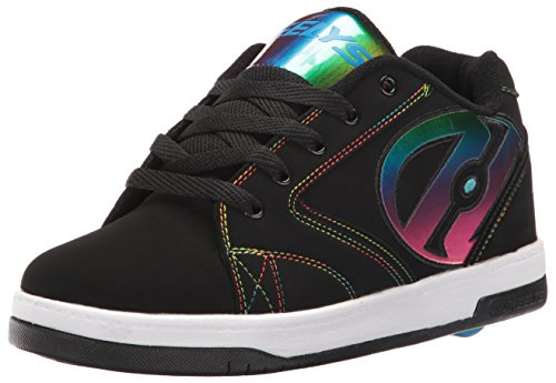 Heelys boys Propel 2.0 Sneaker, Black Black Red, Black...