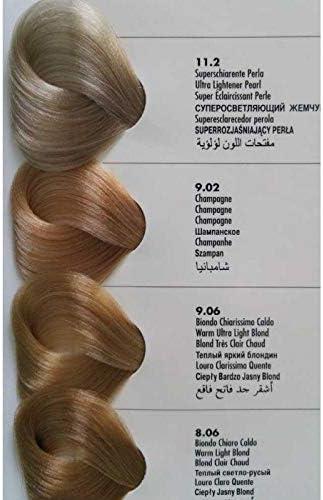 ALLWAVES Professionnelle Cream Color 8.06 Warm Light Blond ...