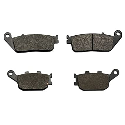 Foreverun Motor Front and Rear Brake Pads for Honda VT 1100 C2 Shadow Sabre 2000-2007