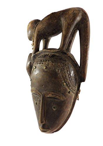Mask Animal Mblo Ivory Coast African Art ()