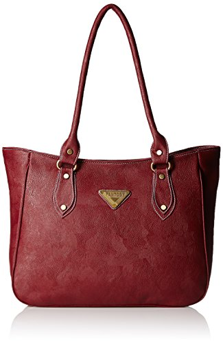 Fantosy Women's Shoulder Bag (Maroon,Fnb-222)