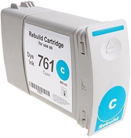 bubprint Cartucho de tinta compatible con HP 761 DesignJet T 7100 DYE Cian: Amazon.es: Oficina y papelería