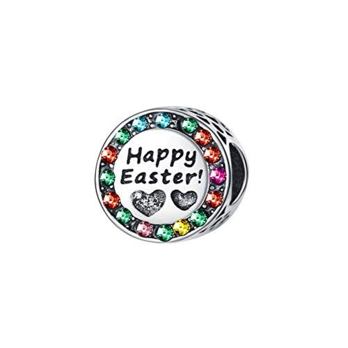 BESTOYARD New Easter Bracelet Loose Beads Accessories Color