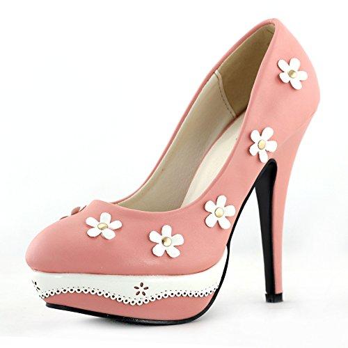 Show Story - Zapatos de tacón  mujer Rosa - rosa pastel