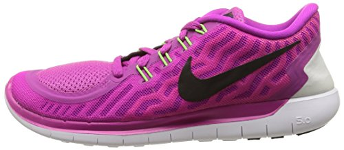 Lava Nike fuchsia De 5 Flash hot Course Chaussures pink Power Black Pour Femmes Multicolores Free 0 xZwfqqEdHS
