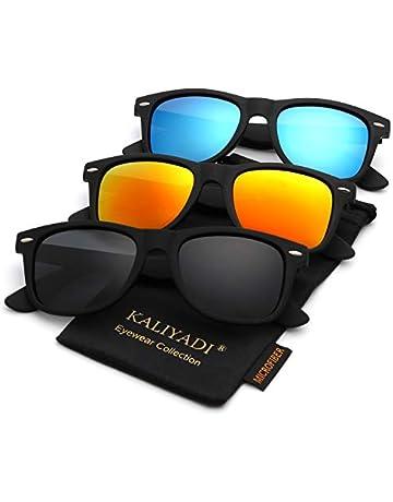 190020837 Polarized Sunglasses for Men and Women   Matte Finish Sun glasses   Color  Mirror Lens