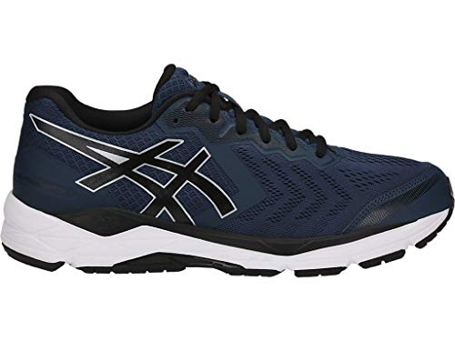 ASICS Men's Gel-Foundation 13 Running Shoes, 9.5M, Dark Blue/Black/White