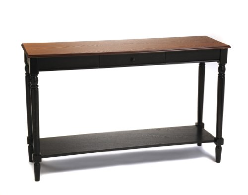 Convenience Concepts French Country Console Table with Drawer and Shelf, Natural by Convenience Concepts (Image #1)