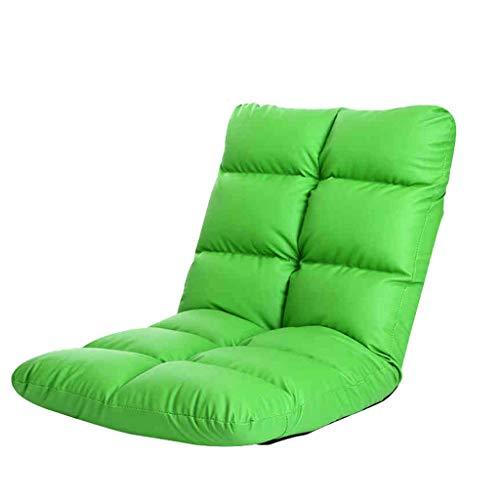 GLJJQMY Sofa Cama Plegable Simple Sofa De Tatami De Estilo Japones Ventana De La Bahia sofa Perezoso (Color Green)
