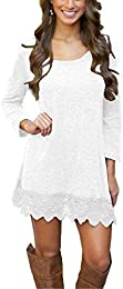 Amazon.com: White - Dresses / Clothing: Clothing- Shoes &amp- Jewelry