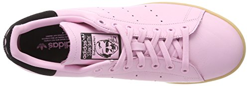 adidas Women's Stan Smith Low-Top Sneakers Pink (Rosmar / Negbas 000) AVXogT