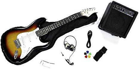 Rochester - Kit de guitarra eléctrica infantil: Amazon.es ...
