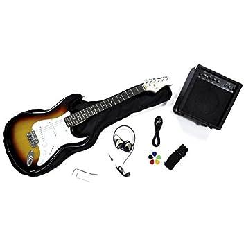 Rochester - Kit de guitarra eléctrica infantil: Amazon.es: Instrumentos musicales