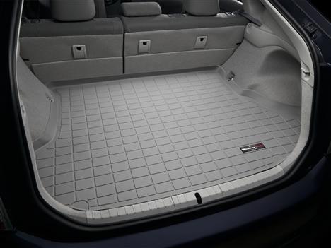 Toyota Prius Cargo (2010 - 2014 Toyota Prius (Not Plug in Hybrid) - WeatherTech Custom CARGO TRUNK Liners - Grey)