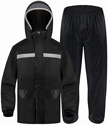 YXF-Chubasqueros Traje de Pantalones de Impermeable para Adultos ...