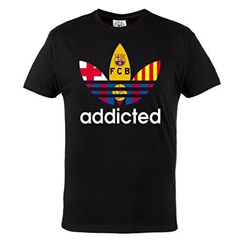 Rule Out Camiseta Ropa para Fans Barcelona Addicted. FCB Ventiladores Football. Sportswear. Informal sYBgt