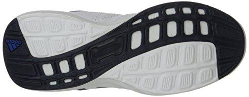 Adidas Performance Hyperfast 2.0 K Zapatilla deportiva (niño pequeño / niño grande) White/Navy Blue/Blue