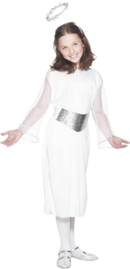 Smiffys AMZ0039 L - Disfraz de ángel para niña: Amazon.es ...