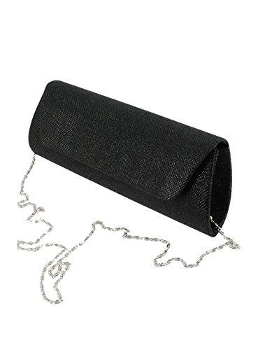 Scintillante Soirée Boutique Pochette de Magique Noir wqx7AHP