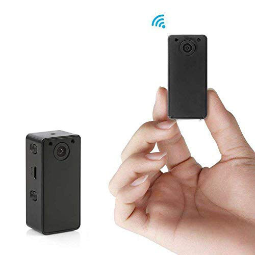 Hidden Spy Camera Wake Up by APP ? Wireless Mini Camera Ideal for Multiple Covert Applications, Nanny Cam? WiFi Camera for Remote View with iOS & Android Devices? Night Vision & 15 Days Standby Time