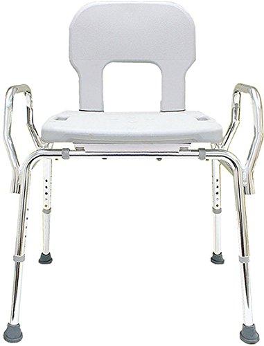 Eagle Health Supplies Bariatric Shower Chair (72621) - (Base Length: 27.5