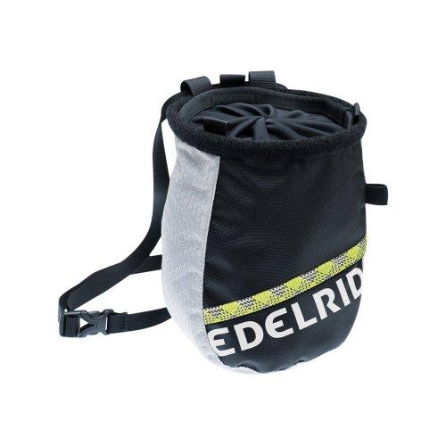 Edelrid chalk bag Cosmic Twist grey/black by Edelrid