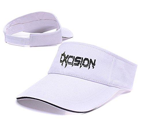 Visor gorro de excision bordado debang White ajustable gorra DJ béisbol 4wHzwaAqg