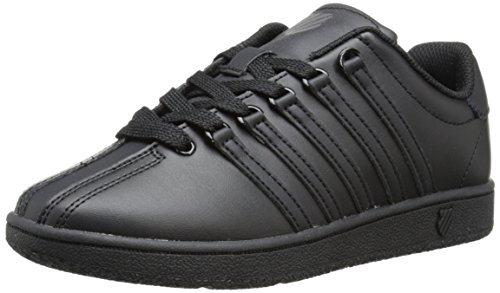 K-Swiss CLASSIC VN Black/Black,4.5 M US Big Kid ()