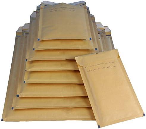 100 Luftpolsterversandtaschen Luftpolstertaschen Gr. I/9 braun ( 320 x 455 mm ) DIN A3