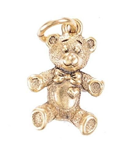 Beaucoup Designs Baby Character Charms (Teddy Bear Gold)