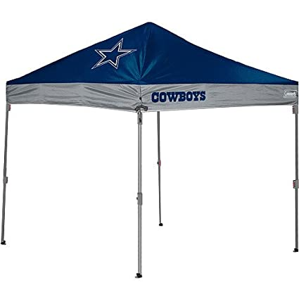 NFL Dallas Cowboys 10x10 Straight Leg Canopy  sc 1 st  Amazon.com & Amazon.com : NFL Dallas Cowboys 10x10 Straight Leg Canopy : Sports ...
