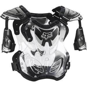 Fox Racing R3 Men's Roost Deflector Motocross Motorcycle Body Armor - Black/Large