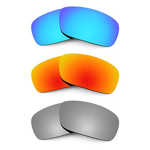 Revant Replacement Lenses for Arnette Infamous AN4076 3 Pair Combo Pack ()
