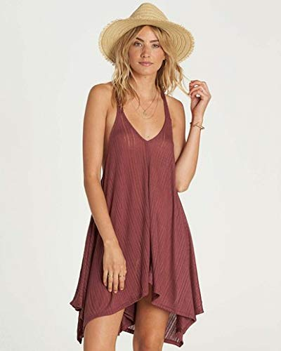 (Billabong Junior's Twisted View Cover Up, Plum Berry, M)