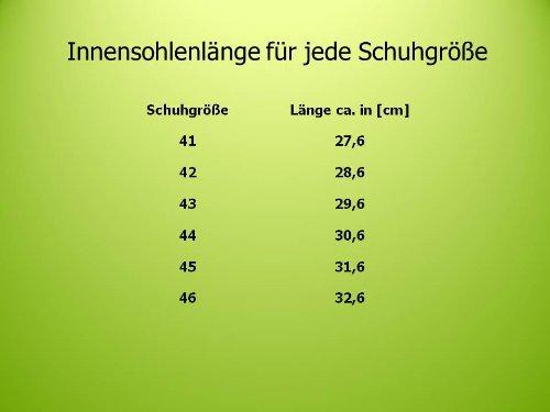Herren Sportschuhe - Fitnessschuhe, Farbe grau, leicht und bequem, Gr. 41-46