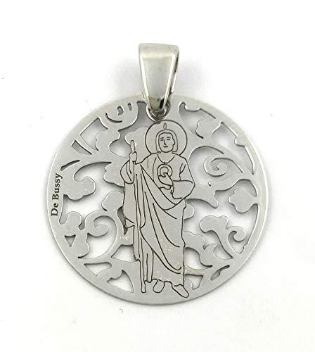 Medalla-San-Judas-Tadeo-en-Plata-de-Ley