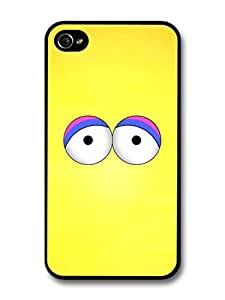 Big Bird Muppet Yellow Face Minimalist Poster TV Show For Apple Iphone 5C Case Cover