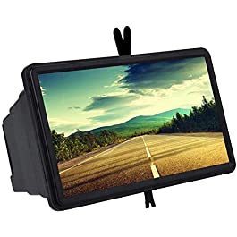AC Accessories HD Mobile Big Screen Enlarged   3D Screen Projector   Magnifier Eye –Protective/Foldable/Lightweight/Anti-Radiation   Easy to Carry Box for All Smartphone Mobile Devices